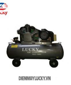 Máy Nén Khí Không Dầu Lucky 220 Lít 5.5hp (anh Bia ) Min