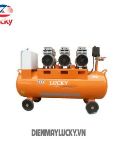 Máy Nén Khí Không Dầu Lucky 90 Lít 220v 3hp(ảnh Bìa) Min