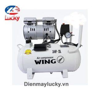 Máy Nén Khí Không Dầu Giảm âm Wing Tw Of550 25l ( Anh Bìa) Min