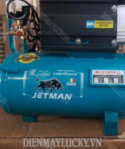Máy Nén Khí Mini Có Dầu Jetman 5hp 50lít Jm2t50 2 Tụ (3)