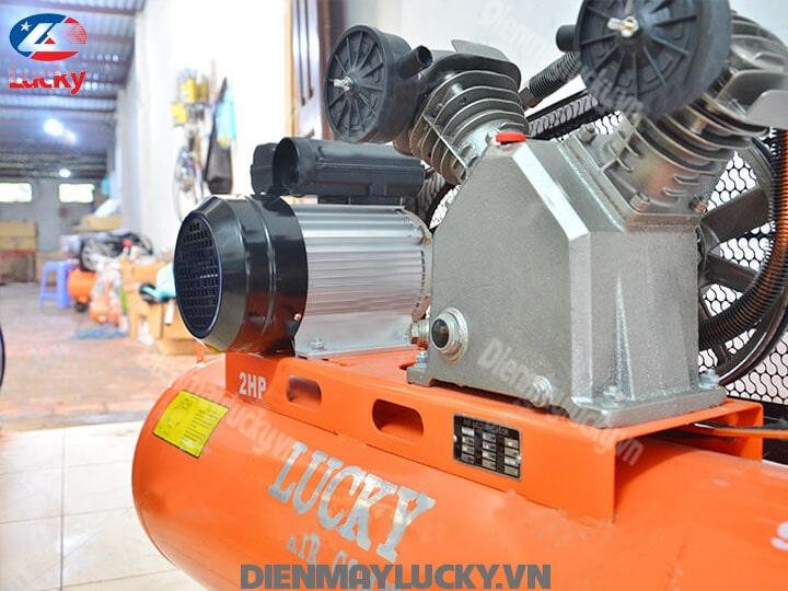 Máy Nén Khí Piston Lucky 90 Lít 220v 2hp(2) Min