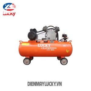 Máy Nén Khí Piston Lucky 90 Lít 220v 2hp(ảnh Bìa ) Min