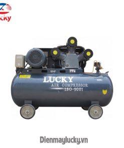 Máy Nén Khí Lucky 300 LÍt 2 CẤp (anh Bia) Min