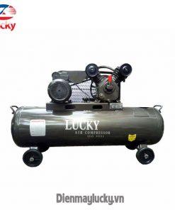 Máy Nén Khí Công Suất Lớn Lucky 120 Lít (anh Bia) Min