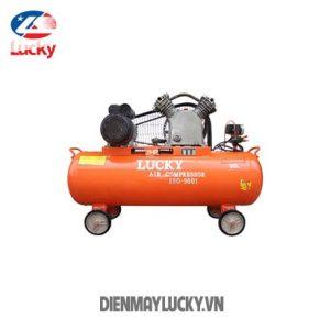May Nen Khi Piston Lucky 90 Lit 220v 2hp Day Nhom 1